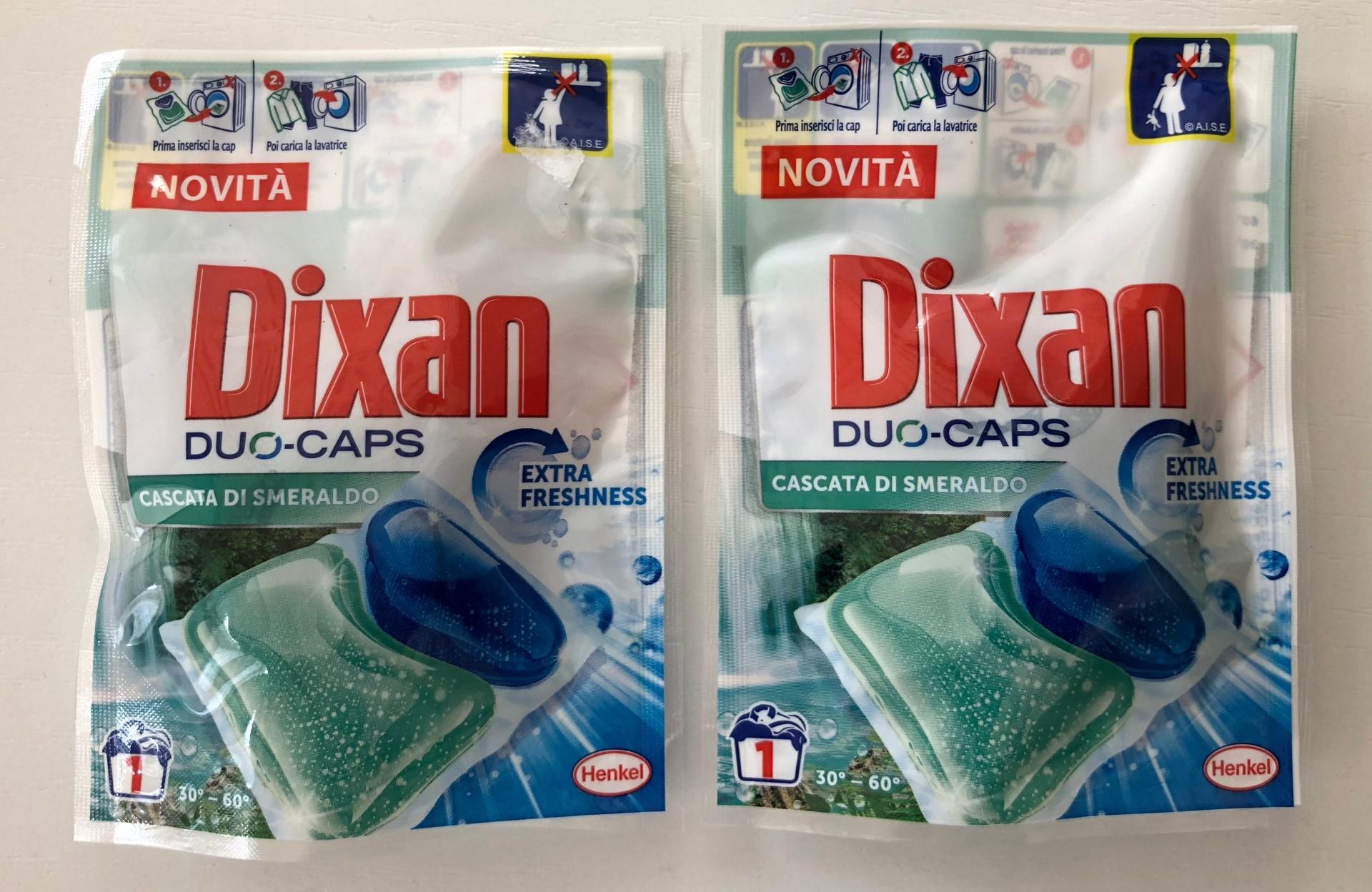 Sampling Dixan Duo Caps