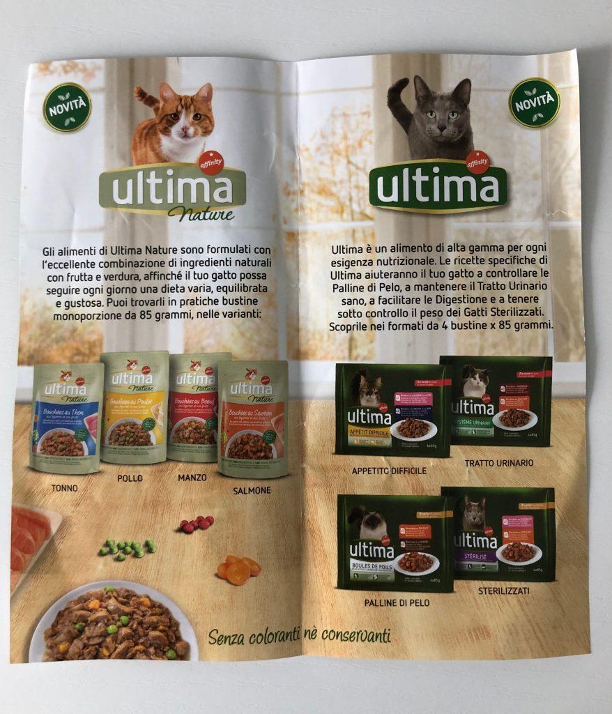 sampling petfood Ultima affinity