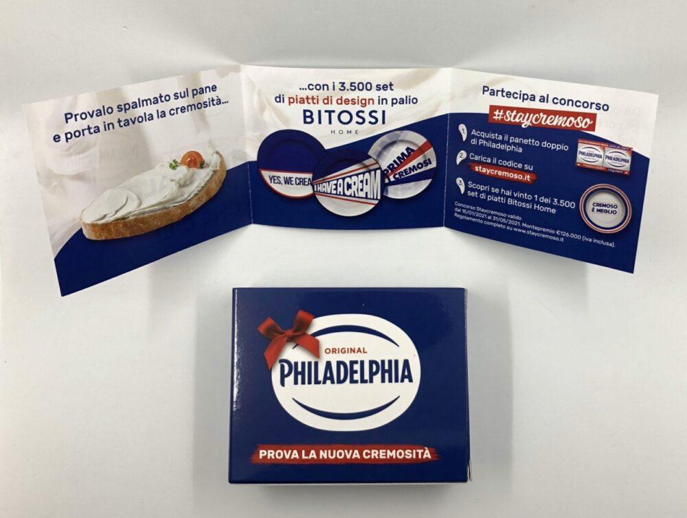 eSampling Philadelphia scatolina e booklet